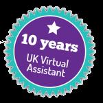 10 Years Badge